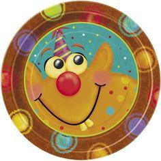 """Unique 7"""" Party Monsters Dessert Plates (8 Count), Multicolor Unique http://www.amazon.com/dp/B00C7Y5HQE/ref=cm_sw_r_pi_dp_6Ar7vb1GH4BRZ"""