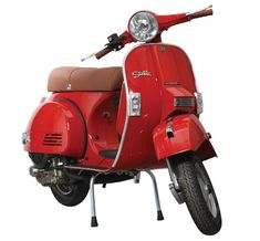 Red Stella scooter from Genuine Scooters