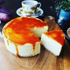 幸せの(#^.^#)♪と超絶しっとりまったり濃厚♪スイートポテトチーズケーキ♪ | しゃなママオフィシャルブログ「しゃなママとだんご3兄弟の甘いもの日記」Powered by Ameba