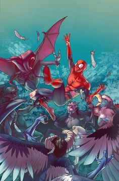Amazing Spider-Man Special #1 by Jamal Campbell *