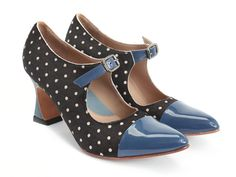 Whether you are looking for casual shoes or vintage high heels, Fluevog women's shoes are more than a fashion statement. Shop now! Girls Formal Shoes, Vintage High Heels, John Fluevog Shoes, Polka Dot Shoes, Shoe Boots, Shoe Bag, Women's Shoes, Only Shoes, Unique Shoes
