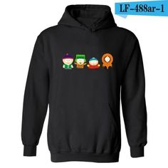 10750df15 American Sitcoms South Park Hooded Punk Hoodie Men in Eric Cartman  Funnydresslliy