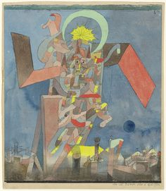 """Demon above the Ships (Dämon über den Schiffen) (1916) 