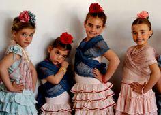 Traje flamenca niñas