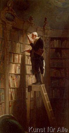 Carl Spitzweg - Der Bücherwurm
