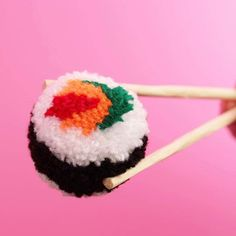 Exciting new things are coming! #pompoms #sushi #add_on_okinawa #frillypops #girlgang #japan #japanese #fake #fashion #secret #handmade #bosswomen #sushipompom #design #food #chopsticks
