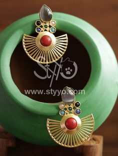 Make this Rakhi Special by getting offer on beautiful earrings for you sister .