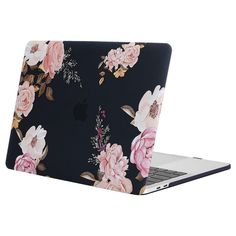 MOSISO Plastic Pattern Hard Shell Case&Keyboard Cover&Screen Protector Only Compatible with Older Version MacBook Pro Retina 13 inch (Model: & Pink Peony Best Macbook Pro, Macbook Pro 13 Case, Macbook Pro 15 Inch, Macbook Pro Retina, Keyboard Cover, Best Laptops, Mo S, Laptop Accessories, Laptop Stickers