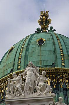 St Michael's Gate Dome, Vienna, Austria