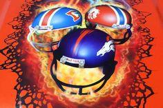 Denver Broncos Football, Football Helmets, Win Or Lose