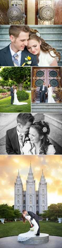 Salt Lake Temple Wedding | Carli Hobson Photography I WILL marry in the temple! :) salt lake is definitely up there in location options! :)