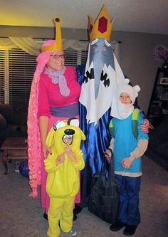 adventure time family costumes post:) #adventuretime