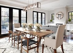 find this pin and more on living by vickqueen love the light fixture dining table - Decorating Ideas For Dining Room Tables