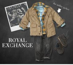 fall outfit for the baby boy
