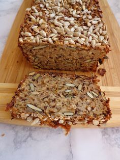 Banana Bread, Menu, Healthy Recipes, Vegan, Baking, Desserts, Food, Brunch, Diet