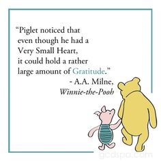 Very Small Heart, Very Big #Gratitude #quotes