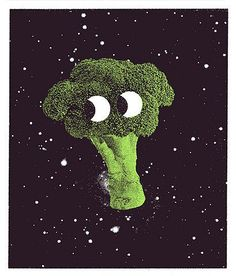 Haha space brocoli c:
