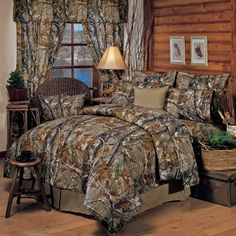 Sofa Mart Realtree AP Camo Twin Sheet Set Gander Mountain