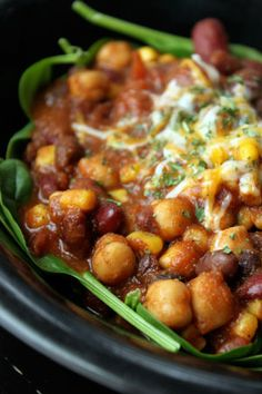 The Quickest 3 Bean Chili You'll Ever Make