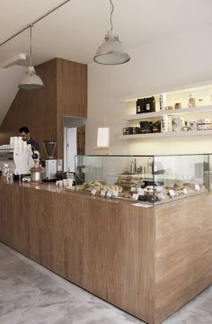 The Architect Behind Some of London's Homiest Coffee Shops | Dwell