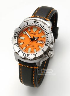 Seiko Orange Monster