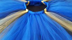 Finding Dory theme tutu blue yellow and black by shopPartySetGo