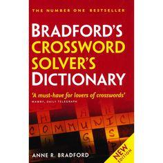 Bradfords Crossword solver's dictionary