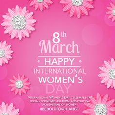 Today we celebrate women's achievements! Happy International Women's Day!