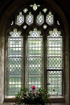 The parish church of Saint James in Avebury, England