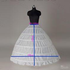 enaguas novia Wedding Petticoats for Wedding Dress Crinoline underskirt for Ball Gown anagua de vestido de noiva jupon mariage