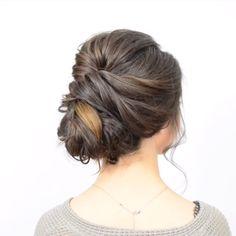 # Braids for short hair bridesmaid Stunning Updo Tutorial! Updo Tutorial, Hair Up Styles, Medium Hair Styles, Up Hairstyles, Braided Hairstyles, Wedding Hairstyles, Classy Updo Hairstyles, Spanish Hairstyles, Evening Hairstyles