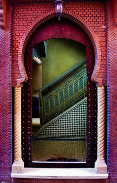 layers and levels of color play, beautiful architectural details