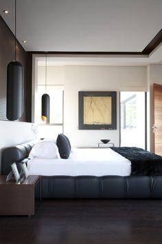 House Eccleston   Main en suite bedroom   Nico van der Meulen Architects #Bedroom #InteriorDesign #Contemporary