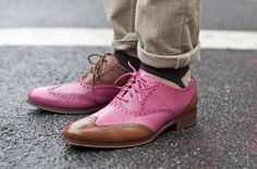 future boyfriend, men styles, cole haan, men outfits, street style men, men's footwear, men shoes, pink shoes, men wear