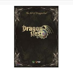 The Art of DragonNest Game ArtBook Mania Memorial Collection Gift Limited Edit.