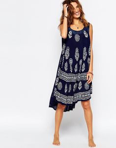 Image 1 of Anmol Umbrella Beach Dress