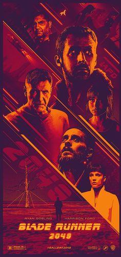 Blade Runner 2049 Blade Runner Art, Blade Runner 2049, Fiction Movies, Science Fiction Art, Cool Posters, Film Posters, Denis Villeneuve, Futuristic Art, Best Novels