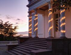 Cluster Lights Lichterkette. Weihnachtlicher Glanz mit Lichterketten! Und psst - diese Lichterketten sehen auch noch im dunklen Januar bestens aus! http://www.ikarus.de/accessoires/lichterketten.html