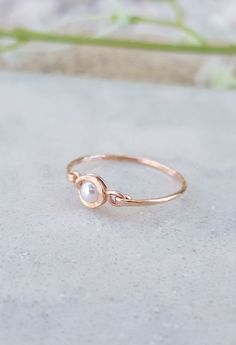 Tiny Pearl Ring, 14k Gold Filled Ring, June Birthstone Ring, Freshwater Pearl Ring, Gold, Silver Ring, Gold Pearl Ring, Natural Peach Pearl. Stone Jewelry, Boho Jewelry, Silver Jewelry, Silver Rings, Gold Pearl Ring, Pearl Gemstone, Bohemian Rings, June Birth Stone, Gold Filled Jewelry