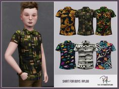:: 6 swatches Found in TSR Category 'Sims 4 Male Child Everyday' The Sims, Sims Cc, Sims 4 Clothing, Sims Mods, Green Dress, Kids Boys, Kids Outfits, Kids Fashion, Men Casual