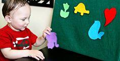 Felt Board  http://www.chiquitamoms.com/2012/03/5-homemade-toddler-toys/#
