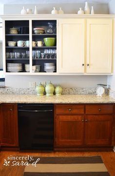 Remove Cabinet Doors Instant Kitchen Update