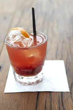 Godfather Cocktail: The distinct flavor of amaretto enhances the smooth pleasure of a Scotch on the rocks without disturbing the flavor too much.