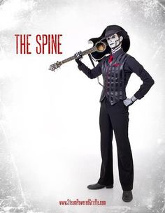 My favorite member of my favorite band: The Spine from Steam Powered Giraffe! You should buy their music on iTunes, I think you will find it not what you expected. It's actually REALLY good. =)