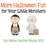 Boy Mama: More Halloween Fun for Your Little Monsters