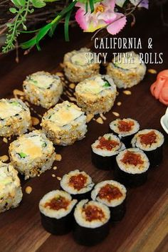 Hi guys! Today I'm going to share how to make California Roll and Spicy Tuna Roll! Last recipe post, I shared how to make sushi rice, so please check it out to make this sushi rolls. 🙂 I choose to share California roll and spicy tuna roll because they are very popular sushi rolls in...Read More »
