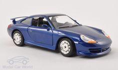 Porsche 911 (996) GT3, metallic-blau