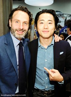Andrew Lincoln & Steven Yeun, SDCC