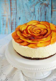barackos túrótorta sütés nélkül, egyszerűen - rózsatorta Smoothie Fruit, Your Recipe, Cheesecake, Baking, Recipes, Food, Child, Cakes, Drinks
