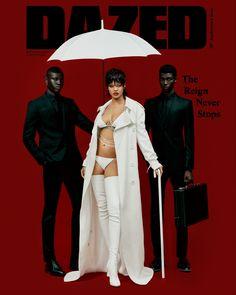 Rihanna Cover, Looks Rihanna, Dazed Magazine, Bad Gal, Rihanna Fenty, Hollywood Life, The Villain, Celebrity Hair Stylist, Celebrity Beauty